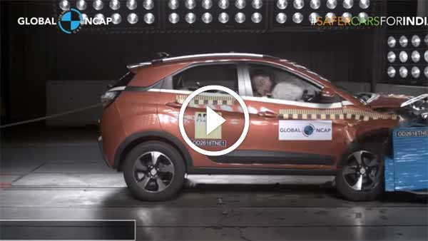 विडियो: टाटा नेक्सन NCAP क्रैश टेस्ट - कितनी सेफ है ये SUV?