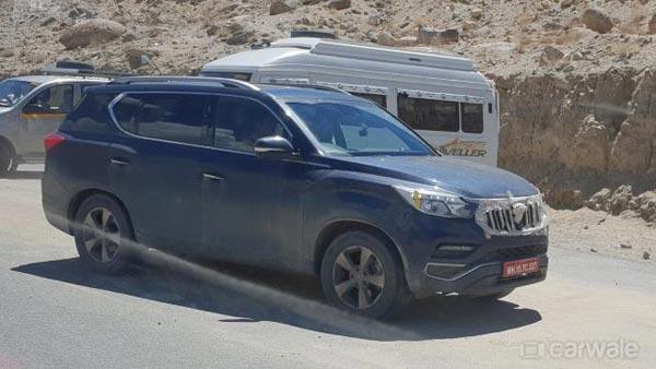 लेह, लद्दाख में हो रही है महिंद्रा XUV700 SUV की टेस्टिंग