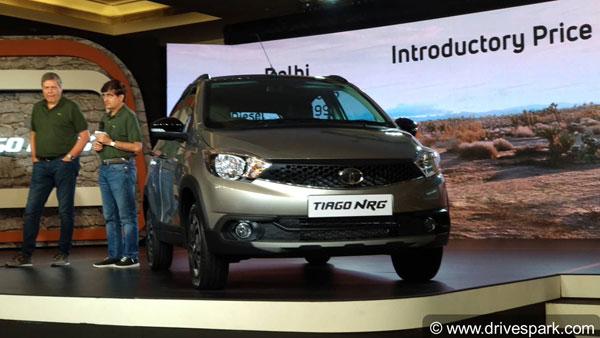टाटा टियागो NRG भारत में लॉन्च - कीमत 5.49 लाख रुपए से शुरू