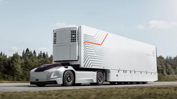 वोल्वो वेरा: वोल्वो ने पेश किया सेल्फ ड्राइविंग ट्रक