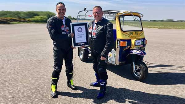 यह है दुनिया की सबसे तेज ऑटो रिक्शा, 119 की स्पीड छूकर बनाया गिनीज वर्ल्ड रिकॉर्ड