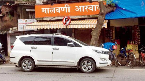 मुंबई मेयर की टोयोटा इनोवा नो पार्किंग में पाई गई, ट्रैफिक पुलिस ने काटा चलान