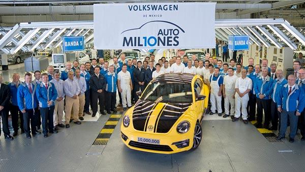 हिटलर की पिपुल्स कार के नाम से मशहूर फॉक्सवैगन बीटल का उत्पादन हुआ बंद