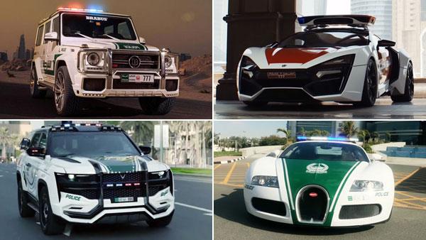 दुबई पुलिस के पास है दुनिया की सबसे तेज कार, 407 किलोमीटर घंटे की है रफ्तार