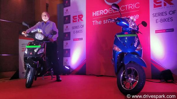 हीरो इलेक्ट्रिक ऑप्टिमा ईआर व निक्स ईआर इलेक्ट्रिक स्कूटर हुए लॉन्च, कीमत 68,721 रुपयें से शुरू