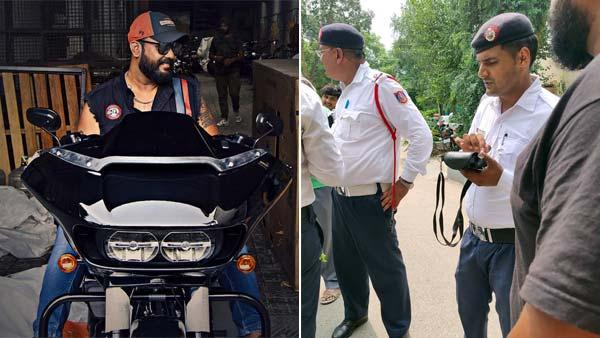 अब बाइक में म्यूजिक चलाने पर ट्रैफिक पुलिस ने काटा चालान, जानिये क्या है नियम