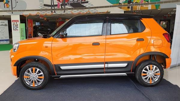 मारुति एस-प्रेसो को डुअल-टोन पेंट में किया मॉडिफाई, वीडियो में देखे यह शानदार कार
