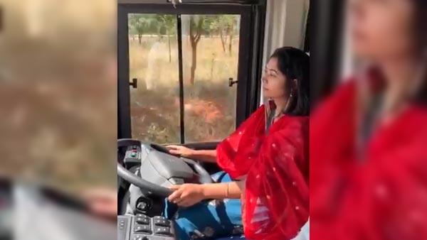 बेंगलुरु: महिला आईएएस अधिकारी ने दौड़ाई वॉल्वो बस, देखें वायरल वीडियो