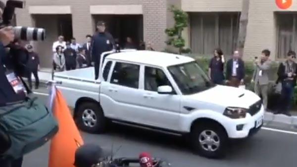 महिंद्रा पिकअप ट्रक ताइवान राष्ट्रपति के काफिले में हुआ शामिल, आनंद महिंद्रा ने दी प्रतिक्रिया