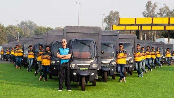 अमेजन इंडिया की डिलीवरी फ्लीट में शामिल होंगे 10 हजार इलेक्ट्रिक वाहन, जेफ बेजोस ने ट्वीट किया वीडिय