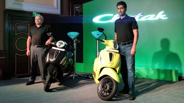 बजाज चेतक इलेक्ट्रिक स्कूटर 1 लाख रुपये की कीमत पर हुआ लॉन्च, फीचर्स, रेंज, डिलीवरी जाने