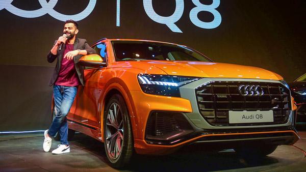 विराट कोहली अपनी नई ऑडी क्यू8 को चलाते आये नजर, देखें वीडियो