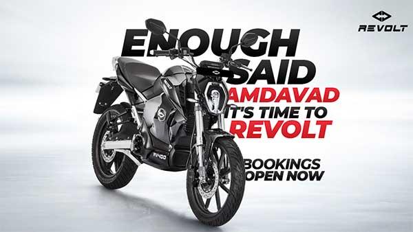 रिवोल्ट ने अहमदाबाद में इलेक्ट्रिक बाइक की बुकिंग की शुरू, जाने