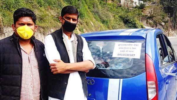 उत्तराखंड के इस व्यक्ति ने अपनी कार को ही बनाया एम्बुलेंस, लॉकडाउन के दौरान ऐसे कर रहे लोगों की मदद