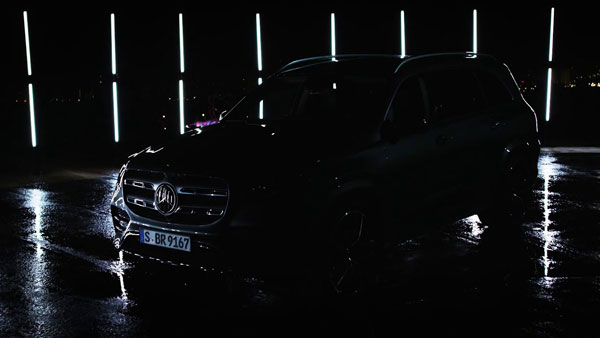 नई जनरेशन मर्सिडीज बेंज जीएलएस का टीजर हुआ जारी, जल्द होनी है लॉन्च