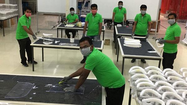 कोरोना महामारी: स्कोडा ने फेस शील्ड का निर्माण किया शुरू