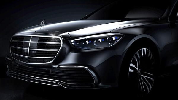 2021 Mercedes-Benz S-Class Teaser Image: मर्सिडीज-बेंज ने नेक्स्ट-जनरेशन एस-क्लास का टीजर किया जारी
