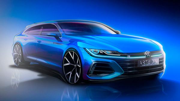 2021 Volkswagen Arteon Teaser: फॉक्सवैगन ने 2021 आर्टिऑन का टीजर किया जारी