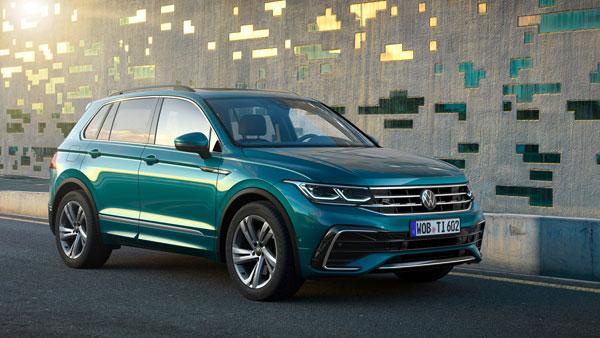 2021 Volkswagen Tiguan Facelift Revealed: फॉक्सवैगन ने नई टिगुआन फेसलिफ्ट का किया खुलासा