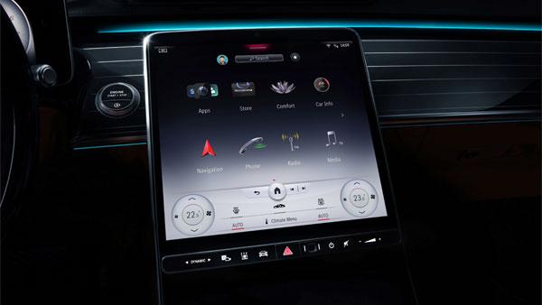 Mercedes-Benz S-Class Touchscreen Revealed: नई मर्सिडीज-बेंज एस-क्लास में मिलेगा बड़ा टचस्क्रीन