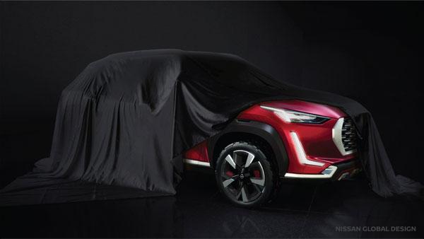 Nissan India Teases New Upcoming SUV: निसान ने नई कॉम्पैक्ट एसयूवी की दिखाई झलक, देखें तस्वीरें