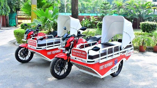 Hero First-Responder Vehicle: हीरो ने गुरुग्राम के अस्पताल में दान किए दो फर्स्ट-रिस्पॉन्डर व्हीकल