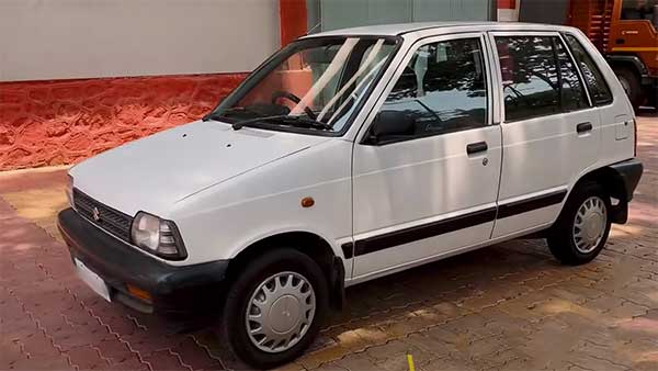 Maruti 800 Modified In EV: पुरानी मारुति 800 को इलेक्ट्रिक कार में किया तब्दील, देखें वीडियो