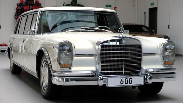 Mercedes Benz 600 Pullman Modified: मर्सिडीज-बेंज 600 पुलमैन लिमोसिन को किया गया माॅडिफाई, देखें
