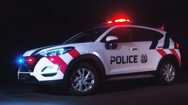 सिंगापुर पुलिस ने हुंडई टक्सन को किया बेड़े में शामिल