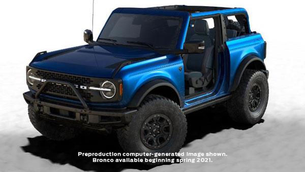 2021 Ford Bronco First Edition New Colour: नई फोर्ड ब्रोंको फर्स्ट एडिशन को मिला नया कलर ऑप्शन