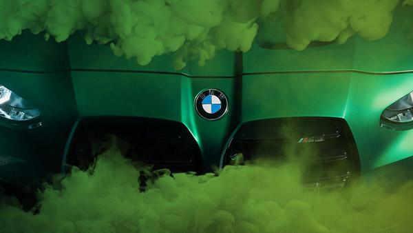 BMW M3 Bright Green Teaser: बीएमडब्ल्यू एम3 का नया टीजर जारी, नए हरे रंग में होगी पेश