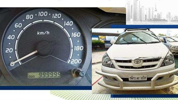 Toyota Innova Driven 10 Lakh Km: यह है देश की पहली टोयोटा इनोवा जो चली है 10 लाख किमी