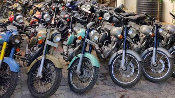 पुलिसकर्मी ने मोटरसाइकिल चुराने वाले 10 चोरों को पकड़ा, 26 रॉयल एनफील्ड बरामद