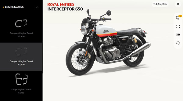 Royal Enfield 3D Configurator App: Now personalize your Royal Enfield mind, came the app