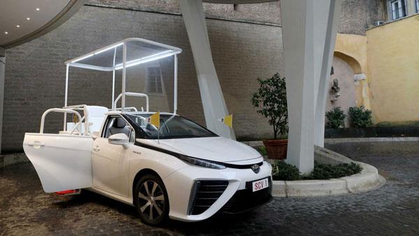 Pope Francis Gets Emission Less Car: पोप फ्रांसिस को मिली शून्य उत्सर्जन वाली कार, जानें