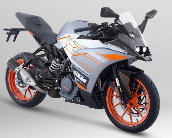 2016 KTM RC 390 motorbike for sale - low mileage, 1 owner