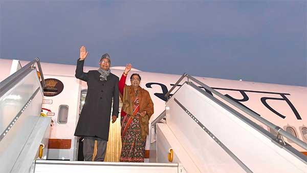 President Inaugurates Air India One: राष्ट्रपति राम नाथ कोविंद ने एयर इंडिया वन में किया पहला सफर