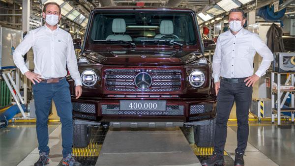 Mercedes-Benz G-Class Production Milestone: मर्सिडीज-बेंज जी-क्लास की 4 लाख यूनिट का उत्पादन पूरा