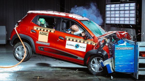 Renault Kwid Safety Ratings: रेनाॅल्ट क्विड ग्लोबल एनकैप क्रैश टेस्ट में हुई फेल