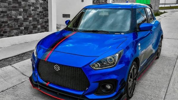 Maruti Suzuki Swift Modification: मारुति स्विफ्ट को मिला स्पोर्ट्स कार का अवतार, देखें तस्वीरें