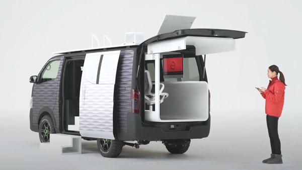 Nissan Concept Office Van Unveiled: निसान ने पेश की काॅन्सेप्ट ऑफिस वैन, जानें क्या हैं खासियत