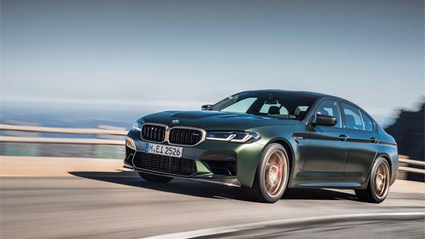 BMW M5 CS Unveiled: बीएमडब्ल्यू एम5 सीएस सेडान का खुलासा, 'एम' सीरीज की सबसे ताकतवर कार