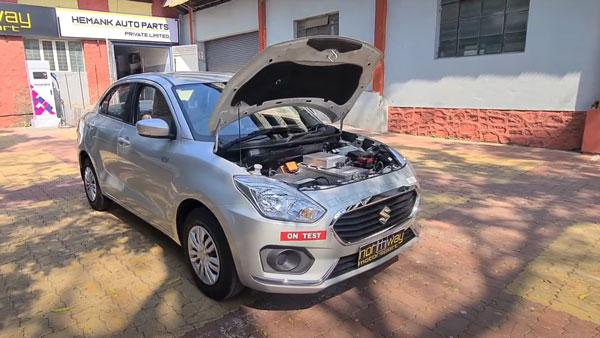 Maruti Dzire Electric Vehicle: मारुति डिजायर को एक इलेक्ट्रिक वाहन के रूप में किया कन्वर्ट, देखें
