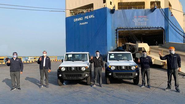 Suzuki Jimny Export Starts: भारत से शुरू हुआ सुजुकी जिम्नी का निर्यात, 184 यूनिट्स रवाना