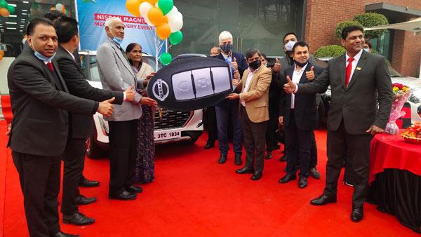 Nissan Magnite Delivery Milestone: 72वीं गणतंत्र दिवस के पहले निसान मैग्नाइट की डिलीवरी 720 यूनिट के पार