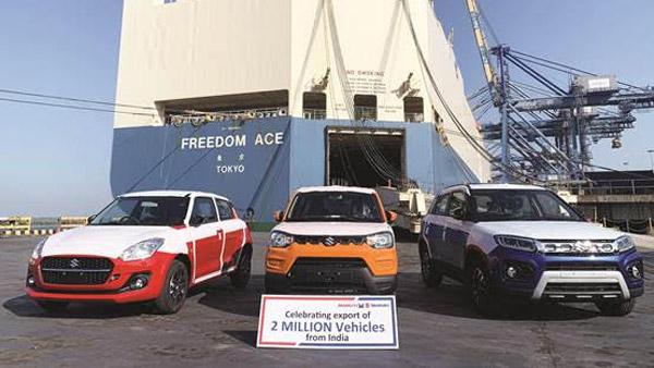 Maruti Car Export Milestone: मारुति सुजुकी ने भारत से 20 लाख कार एक्सपोर्ट का आकड़ा किया पार, जानें