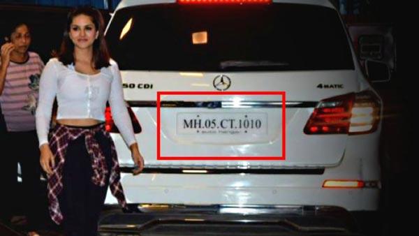 सनी लियोन के पति की कार का नंबर इस्तेमाल करने पर मर्सिडीज-बेंज का मालिक गिरफ्तार, जानें