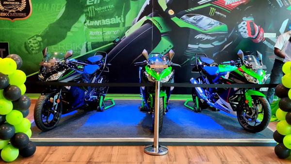 Kawasaki Ninja 300 BS6 Reaches Dealership: कावासाकी निंजा 300 बीएस6 पहुंची डीलरशिप, सामने आई नई वीडियो