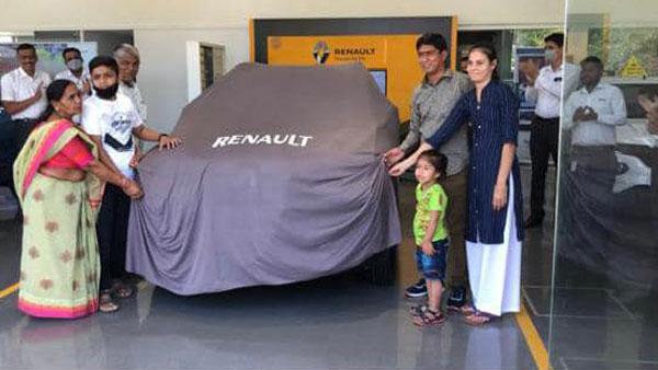 Renault Kiger Delivery Begins: रेनॉल्ट काइगर की डिलीवरी आज से देश भर में हुई शुरू, देखें तस्वीरें