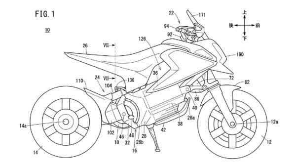 Honda Electric Motorcycle Patent: होंडा के इलेक्ट्रिक बाइक के पेटेंट का हुआ खुलासा